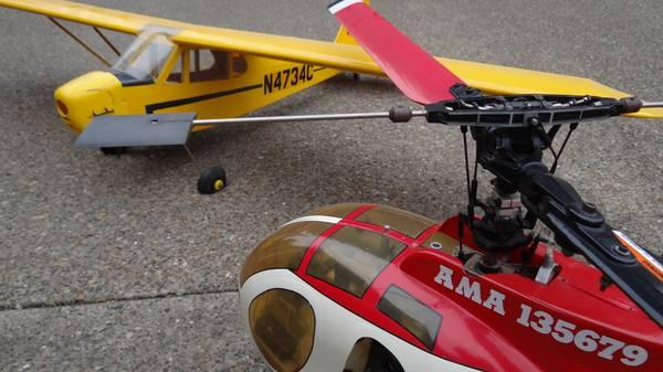 Large Scale RC Helicopter & Plane - for Sale in Salem, Oregon