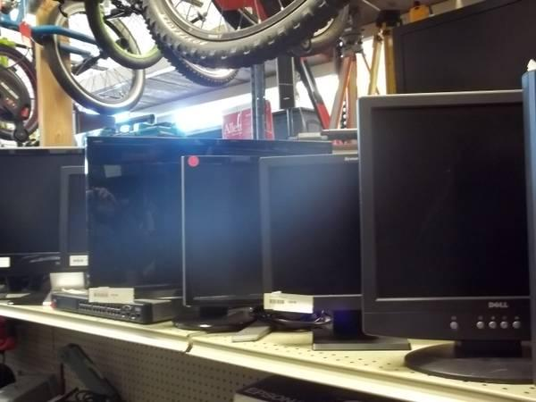 Large Variety of Computer Monitors LCD LED - $25