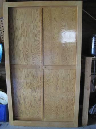 large white cedar wardrobe - $50