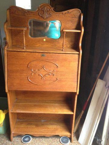 Larkin Desk Small Oak Secretary For Sale In Kirtland