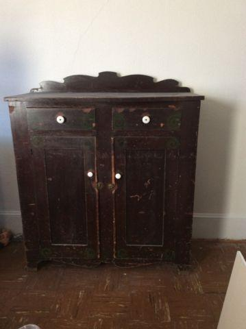 Late 1800s Jelly Cabinet For Sale In Bear Valley