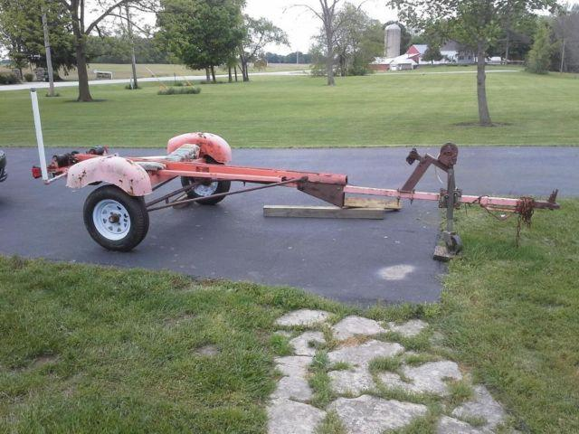 Used Tires Columbus Ohio >> Late 1950's-early 1960's Tee Nee boat trailer with ...