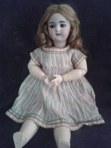 Late 19th early 20th Century German Bisque Doll