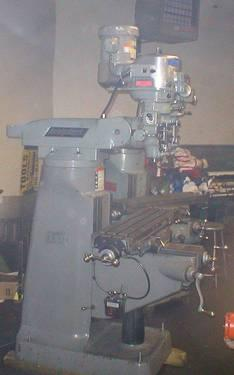 Late Model Bridgeport Mill 2 hp 42