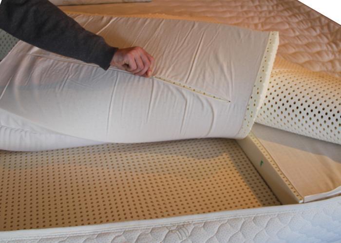 Natural latex mattres