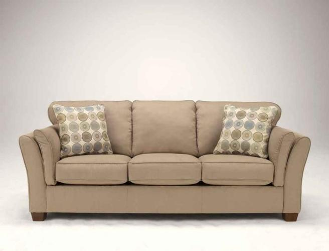 Latte colored Sofa for only NEW Ashley latte colored