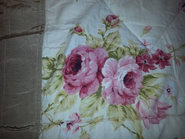 Laura Ashley Cottage Rose Queen Comforter Set For Sale In Fort