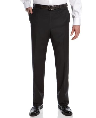 Lauren By Ralph Lauren Pants, Black Solid Big and Tall