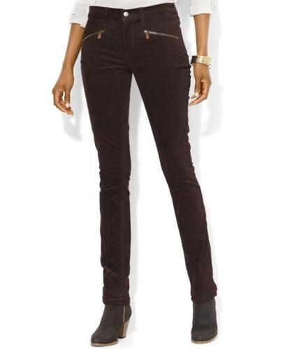 Lauren Jeans Co. Pants, Straight-Leg Corduroy
