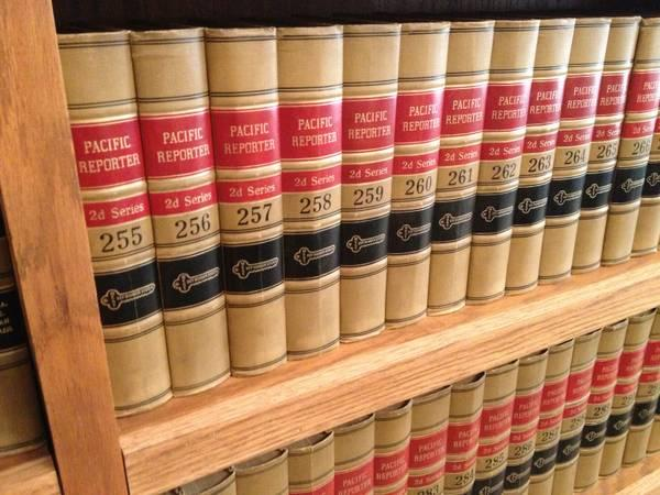 LAW BOOKS FOR SALE - PACIFIC REPORTER - LAW LIBRARY