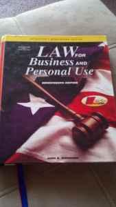 Law for Business and Personal Use - $5 (Beloit)