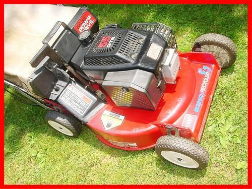 how to fix a lawnboy lawn mower to noisy
