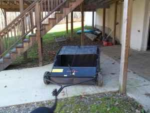 Lawn sweeper - $150 (ASHTABULA OHIO)