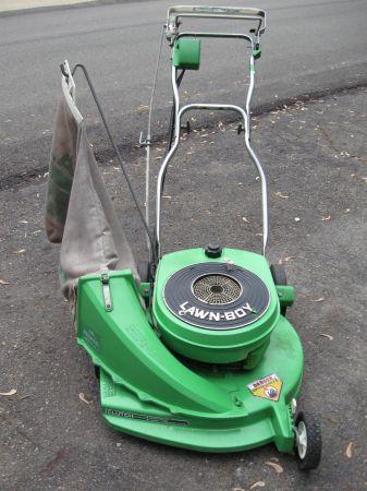 Lawnboy 4 Hp 21 Quot Cut Side Bagger Self Propelled Mower