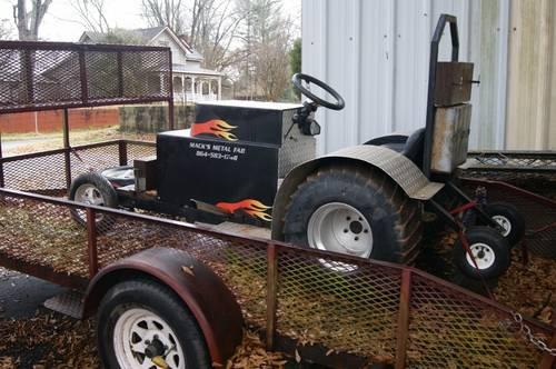 Tractor Pulling Motorcycle : Lawnmower motorcycle pulling tractor for sale in