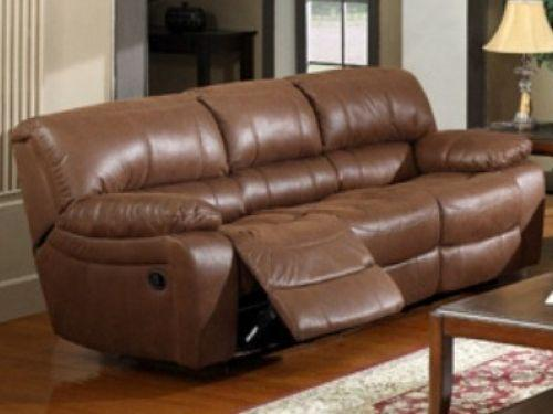 Leather Reclining Sofa and Loveseat - $550 (Palmer)