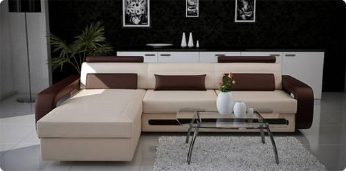 Leather Sectional Sofa Modern Contemporary Loft Design