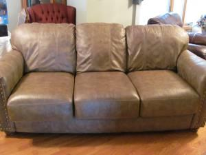 Leather Sofa 350 West Point