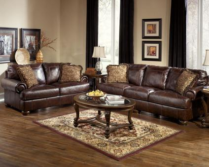 Amazing Leather Sofa And Love Seat W Decorative Pillows Wine Color Uwap Interior Chair Design Uwaporg