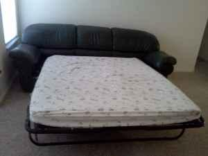 Leather Sofa Bed 170 Obo Orlando