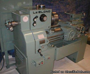 LEBLOND REGAL TOOLROOM LATHE 15 X 30