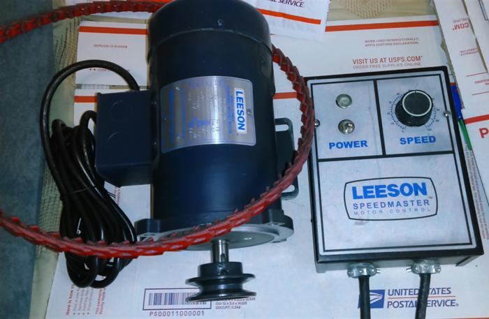 Leeson Dc Electric Motor 098004 1 3 Hp 1750 Rpm 90 Volts