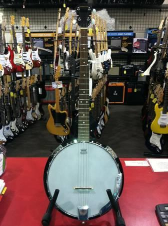 Left-Handed 5-String Banjo by Johnson - $99