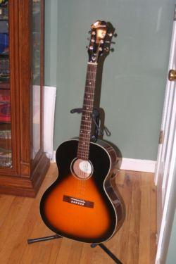 Left handed Epiphone EL-00, Gibson Blues King type copy for