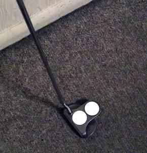 Left Handed Odyssey 2 Ball White Hot Putter - $75 Stevens Point