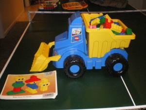 Lego Dump Truck with Big Legos - $20 (Whitinsville, MA)