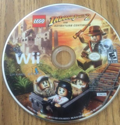 Lego Indiana Jones 2 The Adventure Continues Nintendo