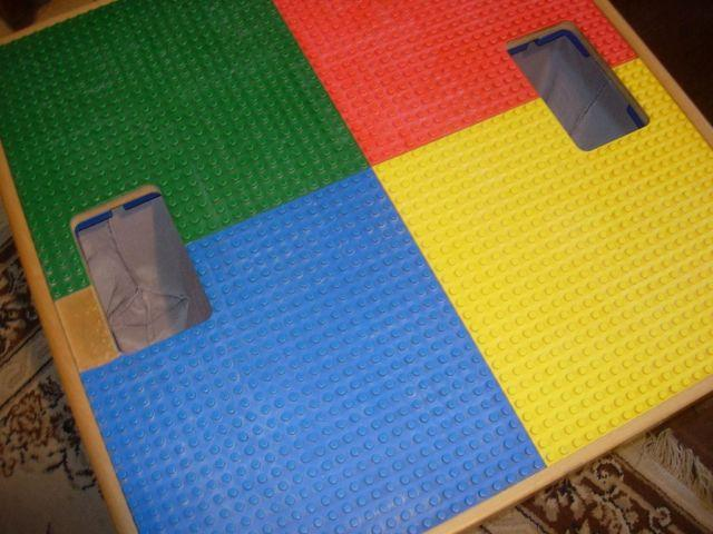 Lego Table and DUPLO LEGOS