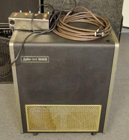 Leslie 825 Cabinet W/Leslie Speaker Control Pedal U0026 9