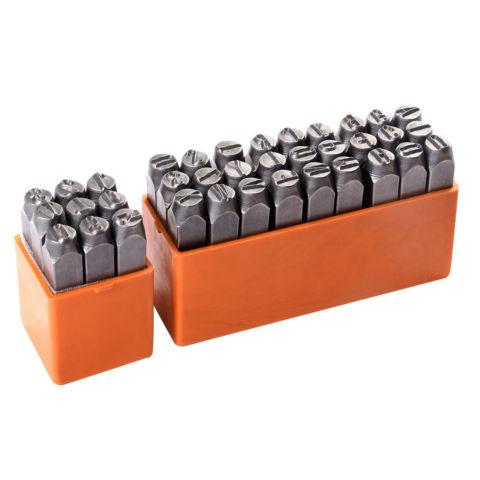 Letter and Number Steel Metal Stamping Stamper Punch