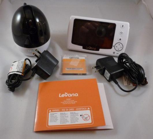 Levana Stella 4.3-Inch PTZ Digital Baby Video Monitor