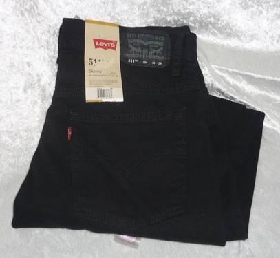 Levis Mid Rise Roof Top Printed Skinny Womens Jeans NEW