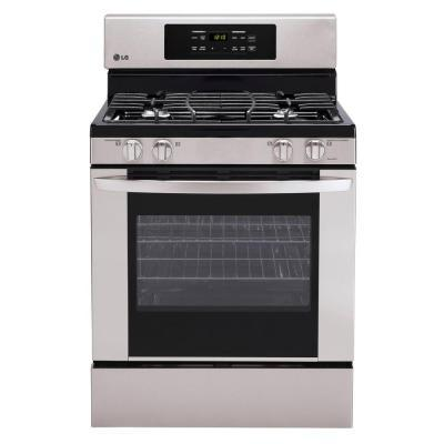LG Electronics 30 in. 5.4 cu. ft. Gas Range with