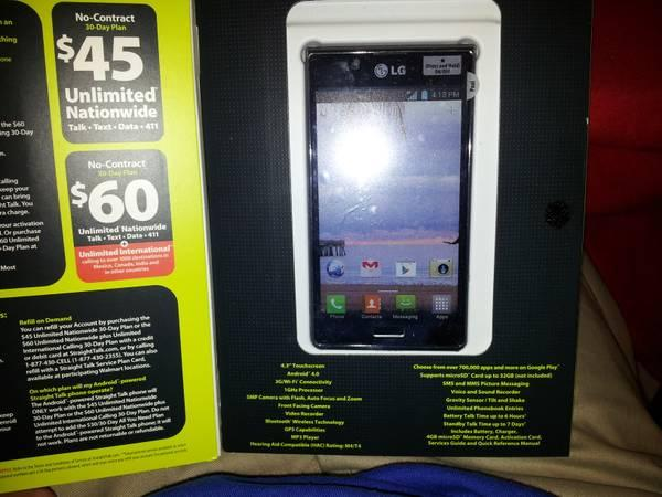 lg optimus showtime new for sale in endwell new york rh endwell americanlisted com