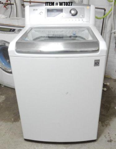 LG Scratch & Dent Top Load Washing Machine