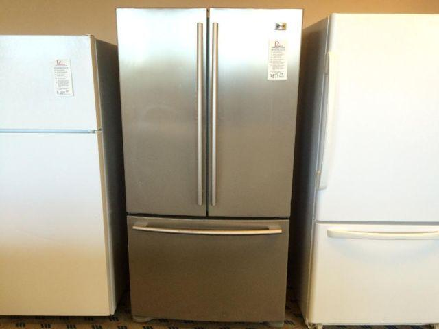 Lg Stainless Steel French Door Refrigerator Used For