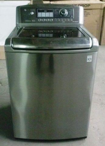 Lg Top Load Washer Stainless Steel Only For Sale In