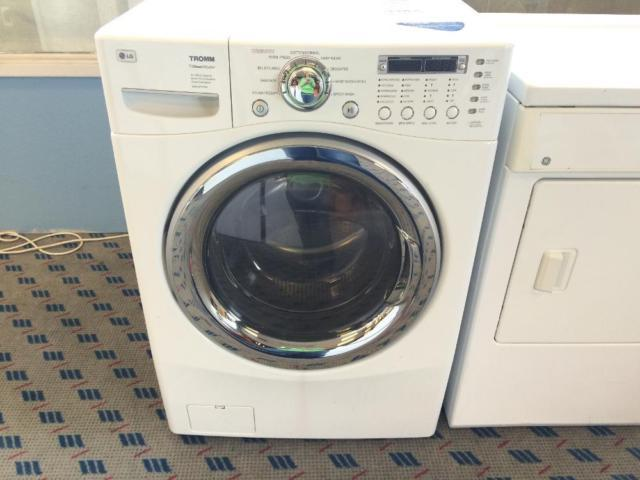 lg tromm front load washing machine