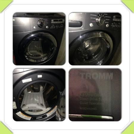 LG Tromm Front Load Washer and Dryer - $875