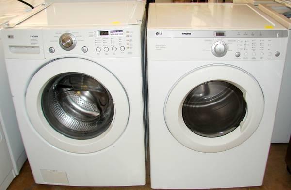 Lg Tromm Washer Dryer Set 549