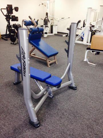 Life Fitness Olympic Bench Press For Sale In Arleta California Classified