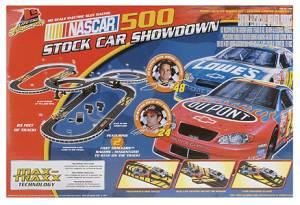 Life Like Nascar 500 Stock Car Showdown slot racing -
