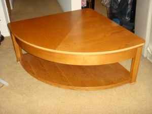 Lift Top Coffee Table By Quot Lane Quot Pie Shaped Great For