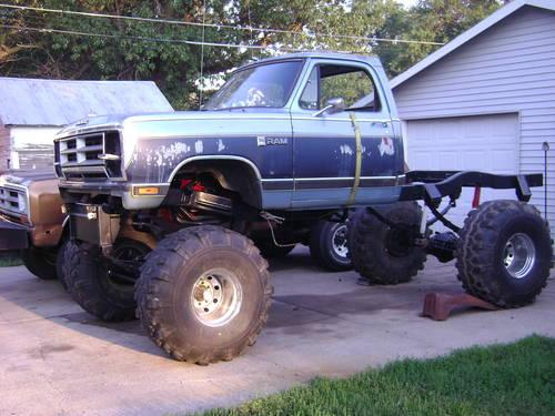 Lifted 1989 Dodge Project Truck For Sale In Fairbury