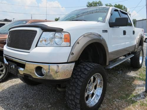 lifted 2006 ford f150 fx4 crew triton xlt 64k mls for. Black Bedroom Furniture Sets. Home Design Ideas