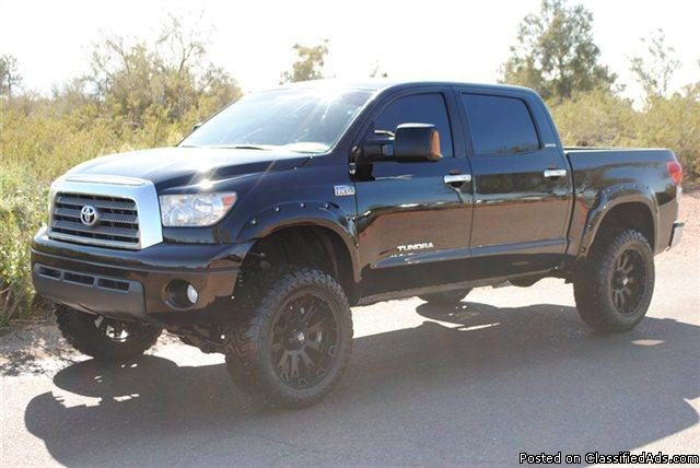 Lifted 2007 Toyota Tundra Crewmax Limited 4x4 Lifted